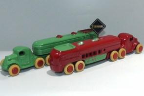 Savoye tracteur semi remorque autocar (rare) les deux couleurs !