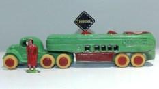 "Savoye tracteur semi remorque autocar ""motor coach""(rare)"