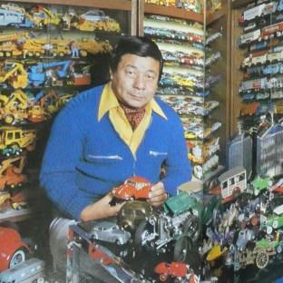 Monsieur Nakajima. Merci pout tout ce que vous avez fait pour les collectionneurs de modèles réduits