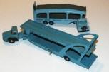 "Dinky Toys Unic prototype Unic semi remorque porte autos Boilot avec le Bedford ""O"" de Liverpool"