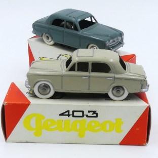 Eria Peugeot 403 unicolore
