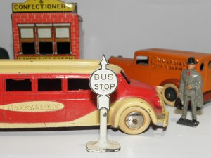 "Tootsietoys GMC car ""Trans America"" et Graham"