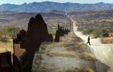 le fameux mur entre le Mexique et les Etats-Unis