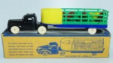 Allied (USA) tracteur semi remorque ajourés bétaillère