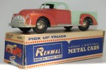 Renwal (zamac) camion pick up