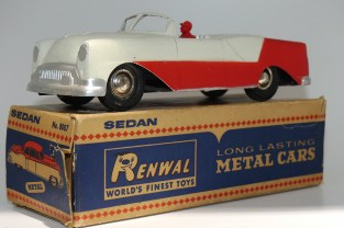 Renwal (zamac) Oldsmobile'53 cabriolet