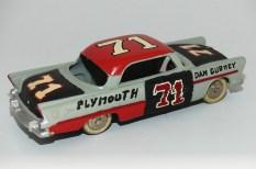 Dinky Toys Plymouth belvedere stock car (transformation d'un amateur dans les années 60)