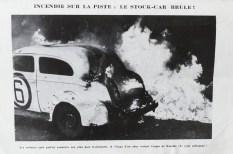 """Photographie extraite du programme """"Le ruban jaune"""" course de stock"""