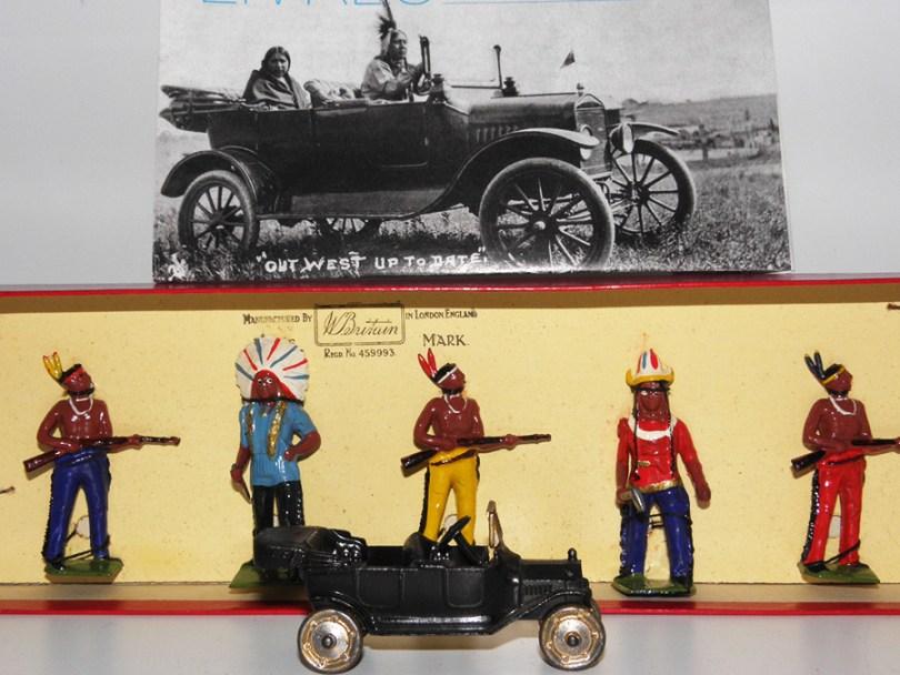 Les indiens ! et leurs Ford T