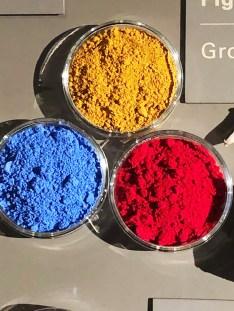 pigments rouge