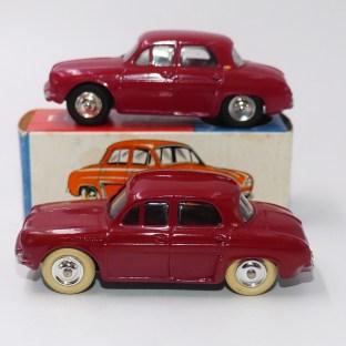 C-I-J Renault Dauphine avec vitrage (nuances de rouge)