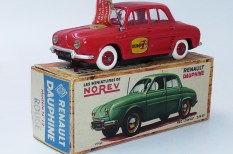 "Norev Renault Dauphine ""Europe 1"""