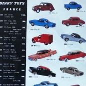 Très rare catalogue Dinky Toys japonais 1962 avec Renault Dauphine