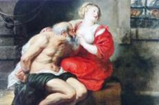 """Peter Paul Rubens """"La Charité romaine"""" 1630"""
