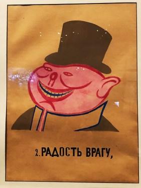 """Vladimir Maïakovski """"chaque absence injustifiée fait la joie de l'ennemi, alors qu'un héros du travail est un coup pour le bourgeois"""" 1921"""
