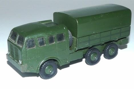 prototype en bois Dinky Toys Berliet T6