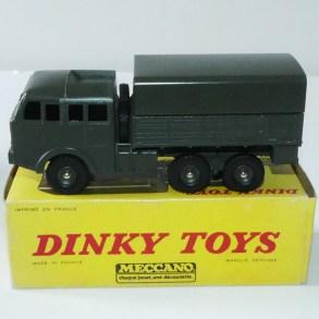 Dinky Toys Berliet T6 de 1975 avec boîte Meccano et jantes concave