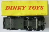 Dinky Toys Berliet T6 avec boîte Meccano Tri Ang sans finitions de peinture argent et jantes concave