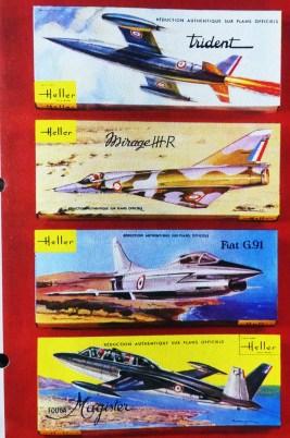 Maquettes d'avions Heller