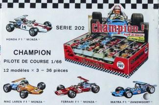 Safir Champion publicité pour les 1/66