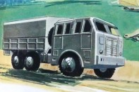 Dinky Toys Berliet T6 (Meccano magasine)