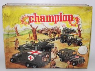 """Safir Champion coffret de présentation comptoir """"les militaires"""""""