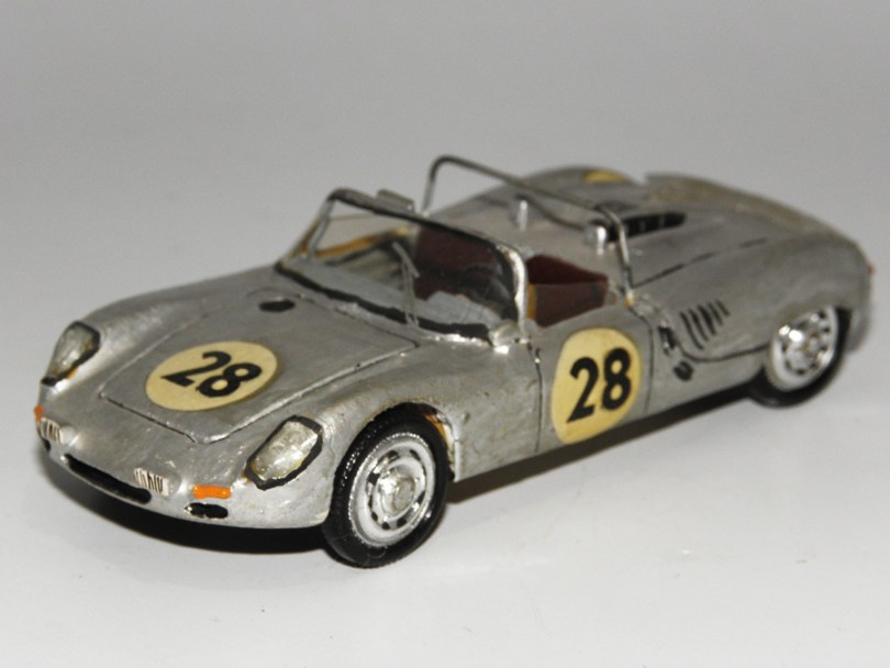 RD Marmande Porsche 8cyl. barquette Le Mans 1963