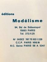 Dossier Modelisme à l'usage des professionnels