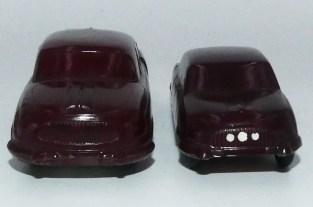 Igra Tatra 603 en bakélite (2 échelles de reproduction)