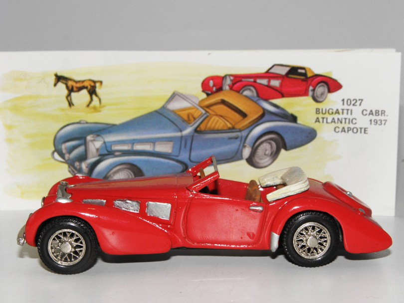 Eligor rare Bugatti Atlantic (white metal)