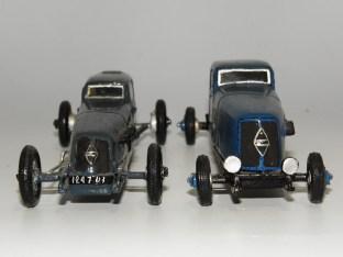 RD Marmande Renault 40cv ... assez différentes