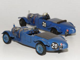 RD Marmande BNC Le Mans 1929 deux interprétations