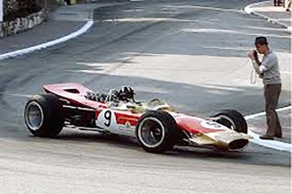 Lotus 49 E Graham Hill GP de Monaco 1968