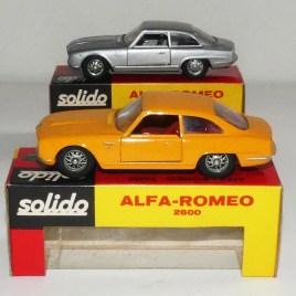 Solido Brosol (Brésil) Alfa Romeo 2600