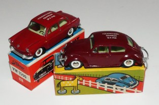 """Tekno Volkswagen 1200'63 et 1500 """"Volkswagen Centrum Stockholm 1963"""""""