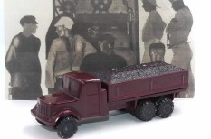 Smer Tatra 111 camion ridelles charbonnier