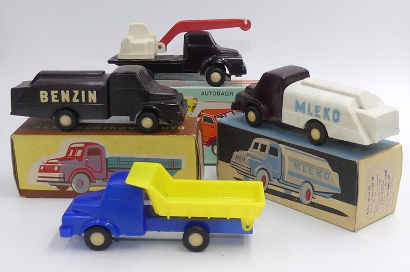Igra Praga 5T camions: au travail !