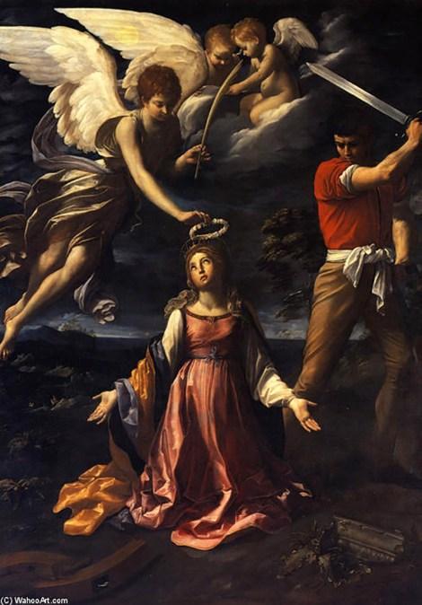 Guido Reni le martyre de Sainte Catherine