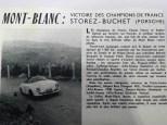 Documentation envoyée à Raymond Daffaure pour réaliser la Porsche 356 de Storez-Buchet