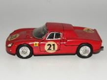 RD Marmande Ferrari 250LM 1er Le Mans 1965