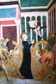 Masalino da Panicale Le martyre de Sainte Catherine d'Alexandrie