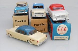 GCO (Grand Clément Oyonnax) et Minialuxe Simca Ariane et Versailles avec boîtes