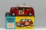 """Corgi Toys BMC Mini Cooper """"S"""" Monte Carlo 1964"""