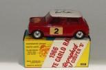 """Corgi Toys BMC Mini Cooper """"S"""" Monte Carlo 1966"""