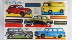 En route ! les belles Peugeot 203 et les autres !