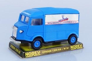 """Norev Citroën 1200Kgs fourgon """"Malissard Savarzeix"""" variantes de couleur de jantes"""