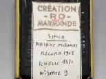 RD Marmande Simca Ariane Miramas de records 1962 (transformation sur Norev)
