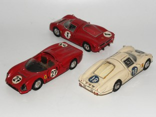 RD Marmande Ferrari 330 P3 barquette, P2 NART et P3 1966