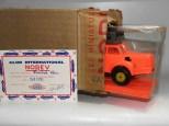 Norev Berliet TBO tracteur semi remorque porte autos en plastique et son sur emballage d'expédition tel que le reçu Mr Stambach