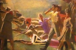 "Alexandre Samokhvalov ""Komsomol militarisé"" 1932"